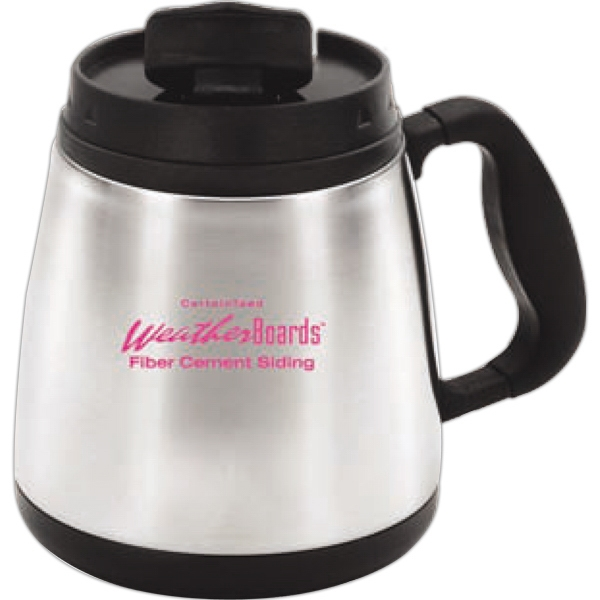 Wide Body Mug, 20 Oz., With Durable Stainless Steel Outer Shell Photo
