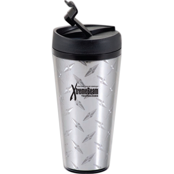 Voyager - Insulated 16 Oz. Tumbler With Spill-proof Flip-top Lid Photo