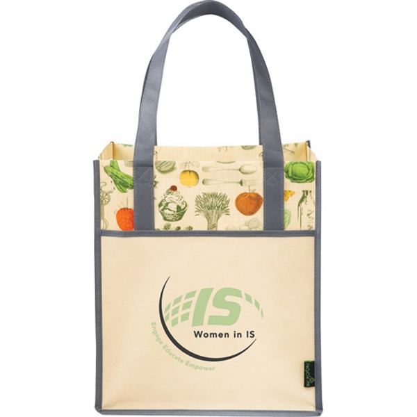Matte Laminated Non-woven Convention Tote Photo