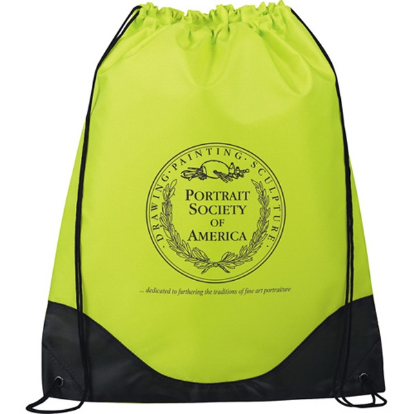 Cruz - Drawstring Cinch Bag Made Of 210d Polyester Photo