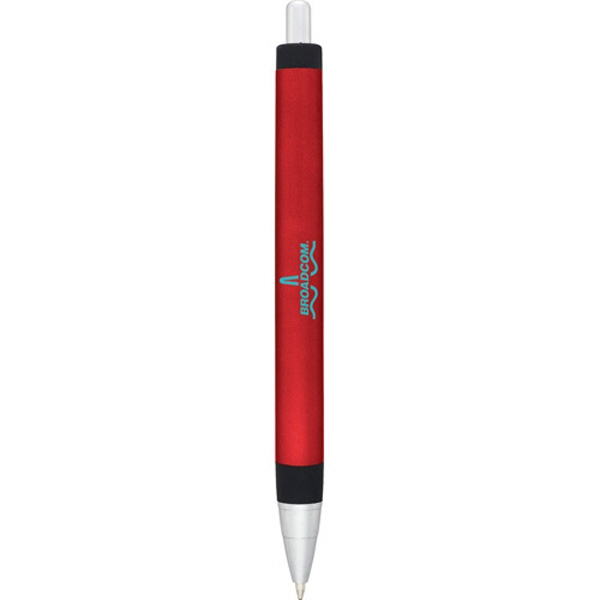 Scripto (r) Sketch - Ballpoint Pen With Smooth Matte Metallic Colored Barrel With Black Rubber Grip Photo