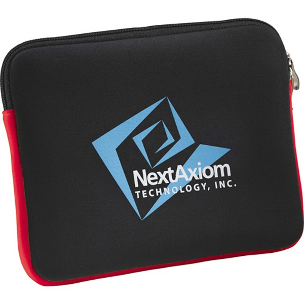 Neoprene Zippered Tablet Sleeve Photo