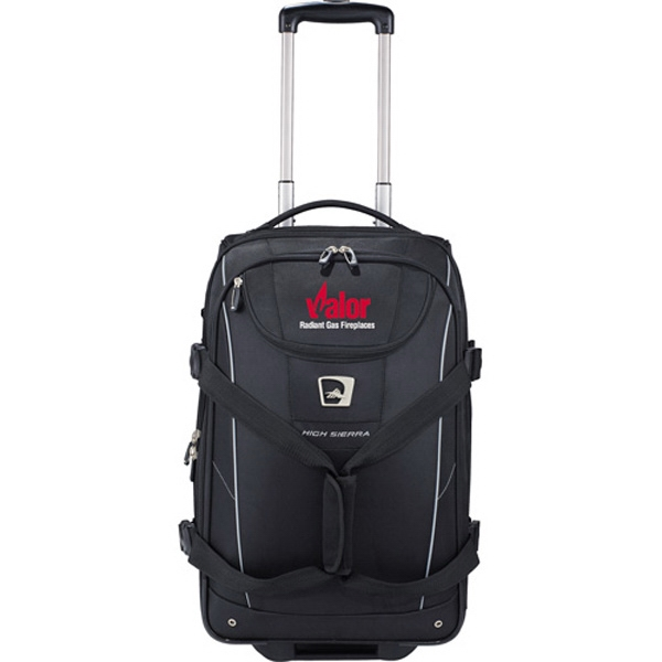 High Sierra (r) Elite (r) - Carry On Wheeled Duffel Bag Made Of 840d Polytech Weave Photo