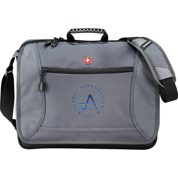 Wenger (r) - 600d Polycanvas Checkpoint Friendly Computer Messenger Bag Photo