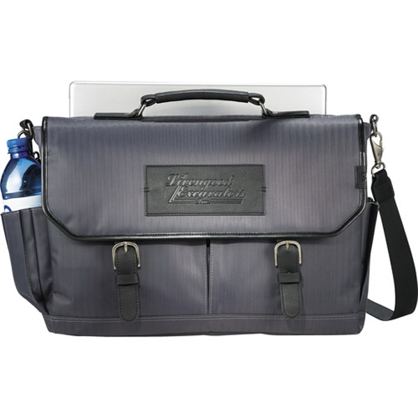 Cutter & Buck (r) - Herringbone Twill Polyester Tsa-friendly Messenger Bag Photo