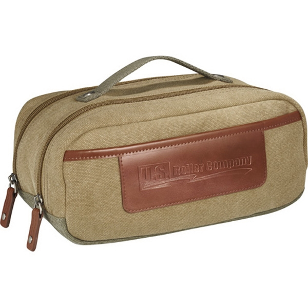 Cutter & Buck (r) - Double Compartment Utility Kit Features Durable Canvas Exterior Photo