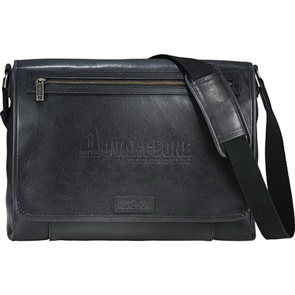 Kenneth Cole (r) - Vinyl Computer Messenger Bag Photo