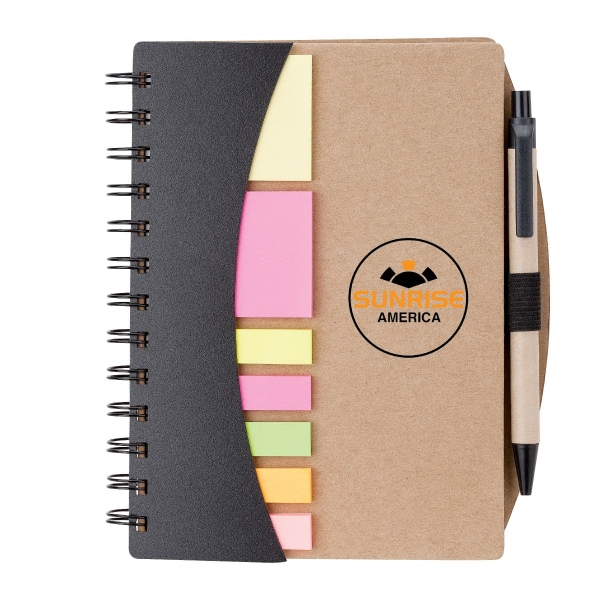 Broome Mini Journal with Pen, Flags & Sticky Notes