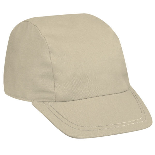Promo Cotton Twill Solid Color Three Panel Sports Cap. Blank Photo