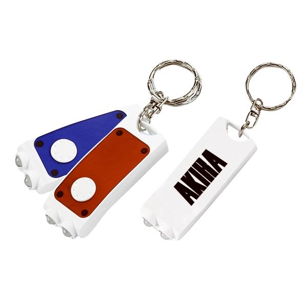 Rectangular Key Ring Flashlight