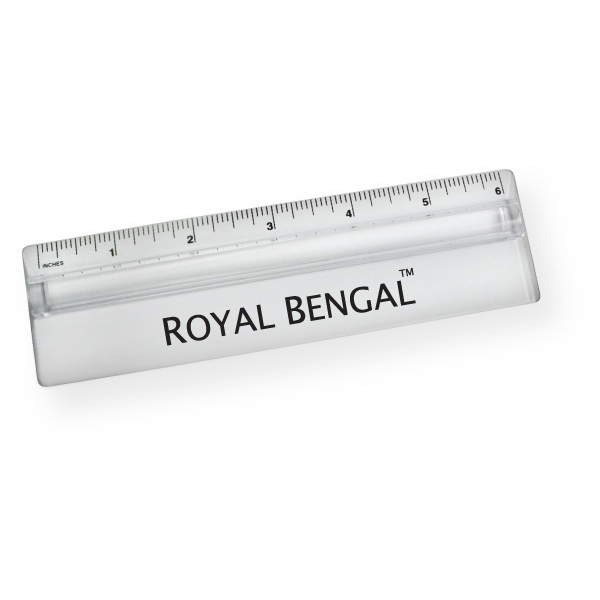 "6"" Standard Magnifying Ruler"