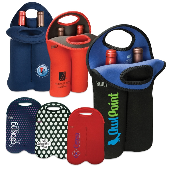 Built (r) - Two Bottle Tote Bag Insulates Two 750 Ml To 1l Bottles, Machine Washable Photo