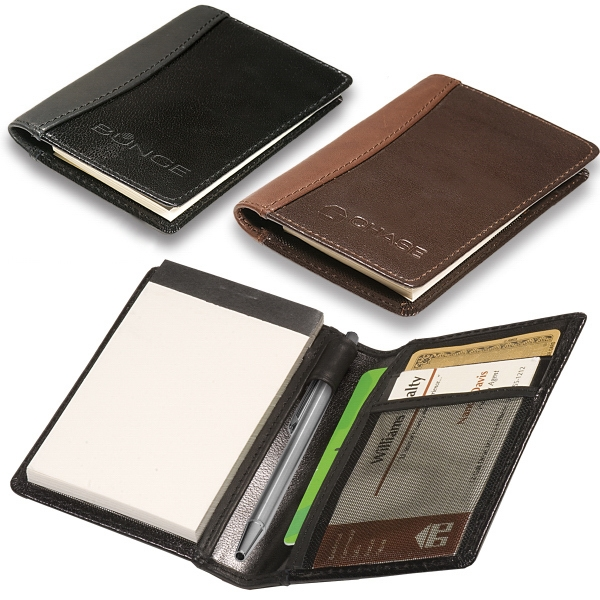 Hayden Leeman New York Collection - Sueded Full Grain Leather Pocket Jotter Pad Photo