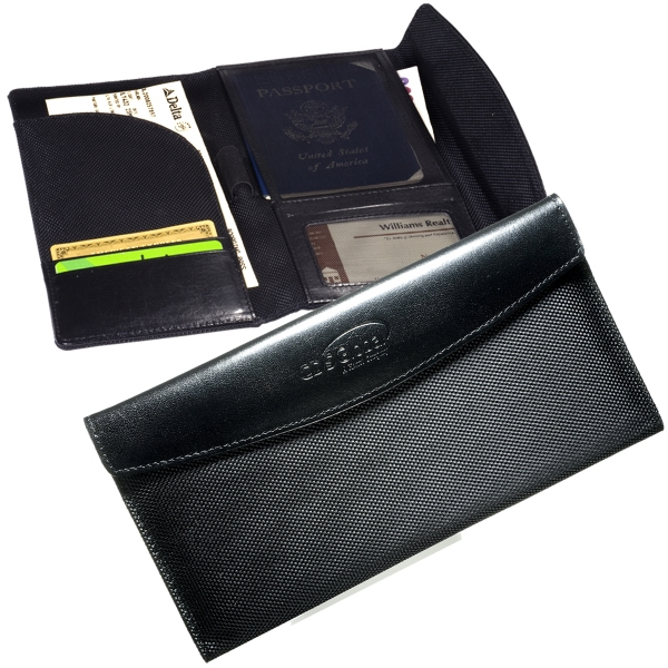 Manhasset Leeman New York Collection - Travel Wallet Photo
