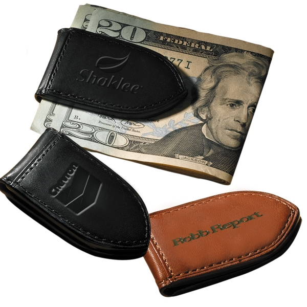 Carnegie Leeman New York Collection - Calfskin Money Clip Photo