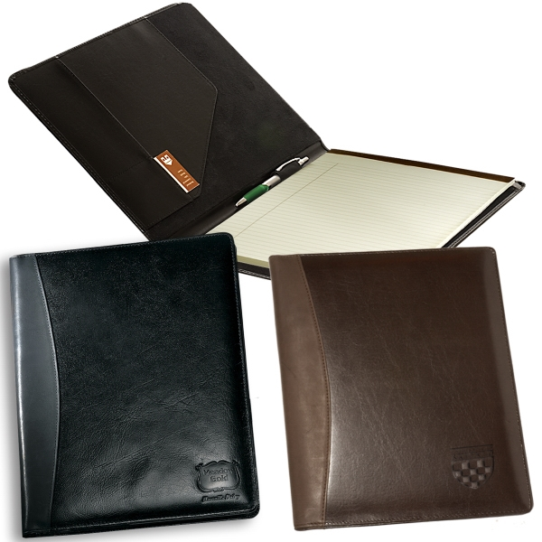 Soho Leeman New York Collection - Sueded Full Grain Leather Portfolio Photo