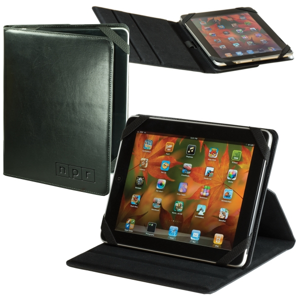 Leeman New York Collection - Leather Ipad (r) 2 Case/stand Photo
