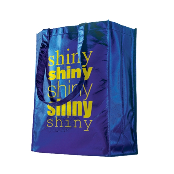 Horizontal Trendy Shopping Bag - Small