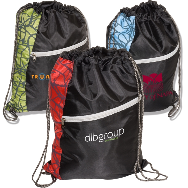 String-a-sling - 210 Denier Polyester Drawstring Backpack Photo