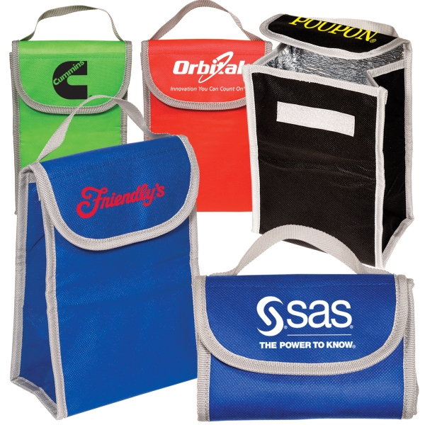 80gsm Non Woven Polypropylene Folding Lunch Cooler Photo