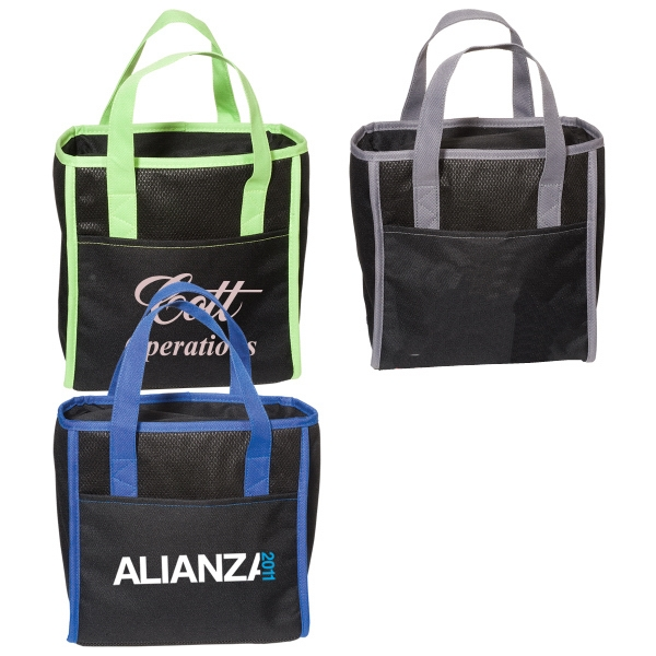 600 Denier Polyester Gourmet Lunch Tote With Front Pocket Photo
