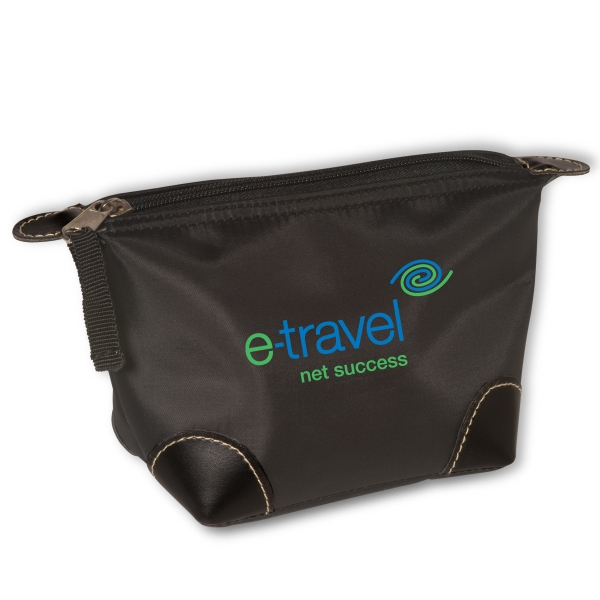 Logotec - Personal Travel Pouch With Zipper Closure, 190t Nylon Photo