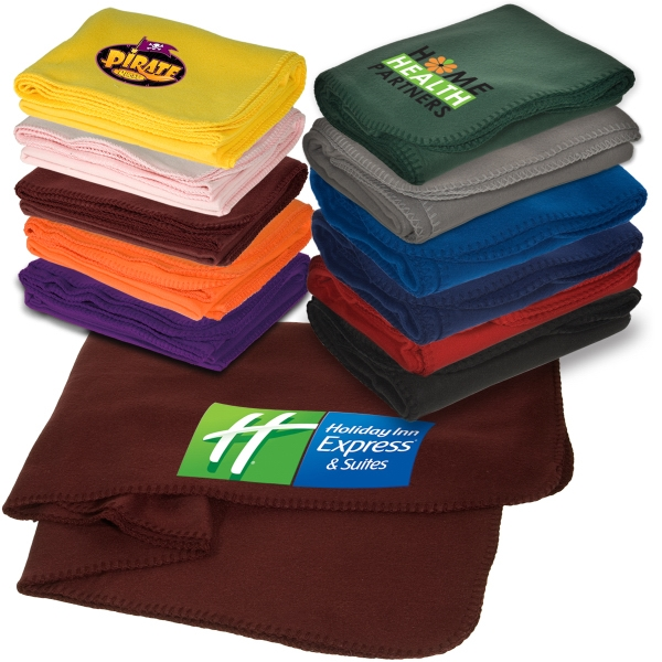 Logotec Econo - 100% 180 Gsm Polyester Fleece Blanket Photo