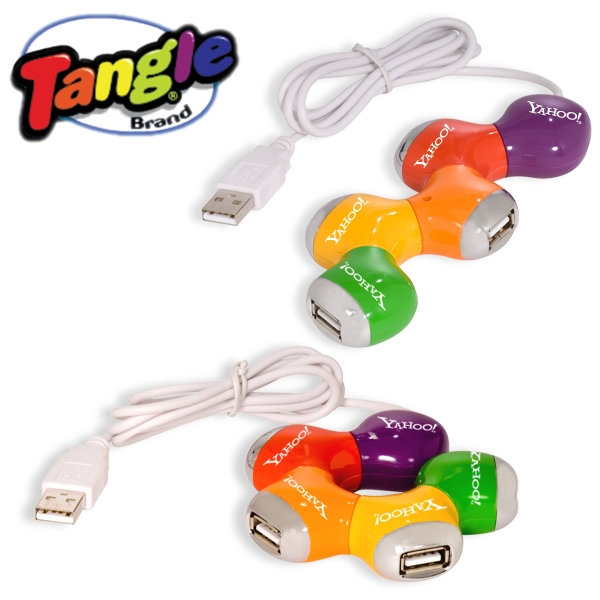 "Tangle (r) - Multi Color Hub 2.0, Each Port Twist 180 Degrees For Easy Accessibility, 30"" Cord Photo"