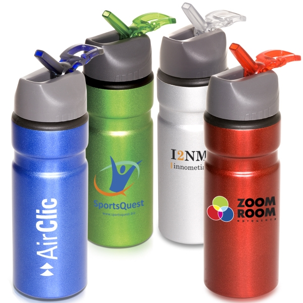 Badlands - 28 Oz. Aluminum Bpa Free Bottle With Rip-up Spout And Carry Handle. Closeout Photo