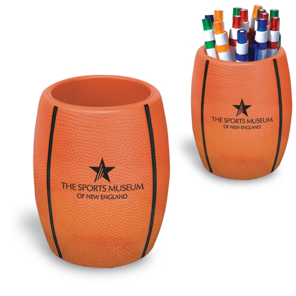 Basketball - Strong Flexible Polyurethane Can Holder, Holds A 12 Oz. Can Photo
