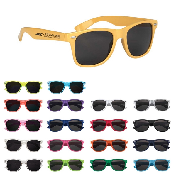 Malibu - Folding Sunglasses Made Of Polycarbonate Material Photo