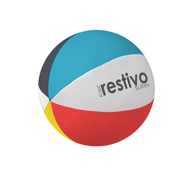 Stress Reliever, Beach Ball Shape Photo