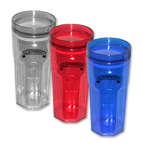 Bellagio - Quality 16 Oz. Tumbler In Modern Shape Made With As Plastic, Bpa Free Photo