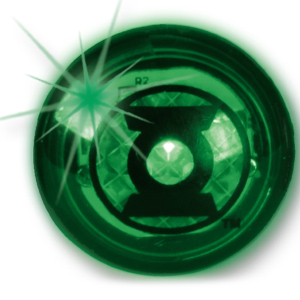 Green - Flashing Strobe Lighted Ring Photo