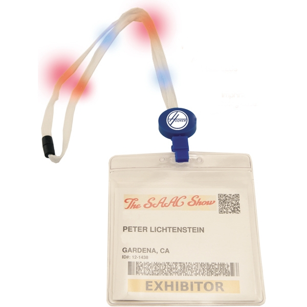 Lighted Lanyard Badge Holder Photo