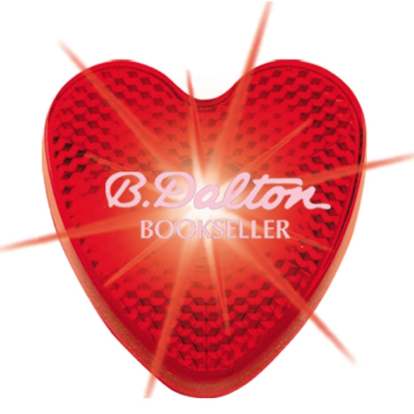 Heart - Bright Blinking Red Led Strobe Light With 200 Hours Of Flashing Light Photo