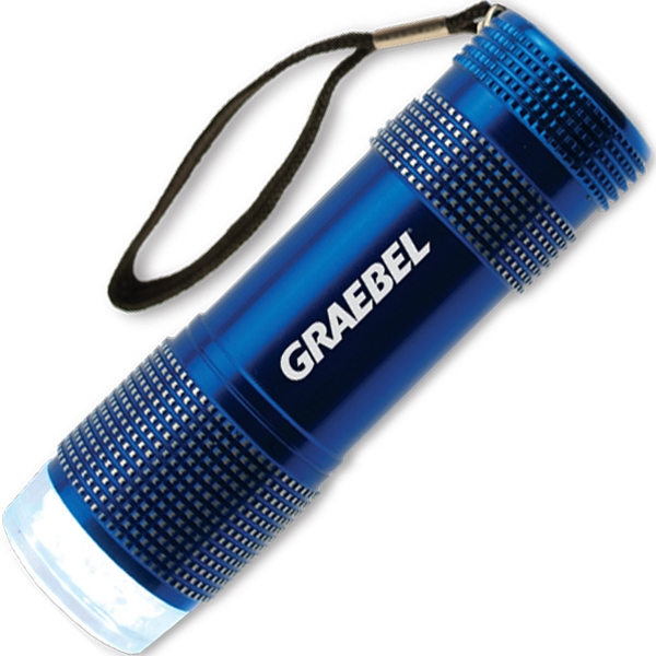 The 9 Led Sport Flashlight With Wrist Strap Photo