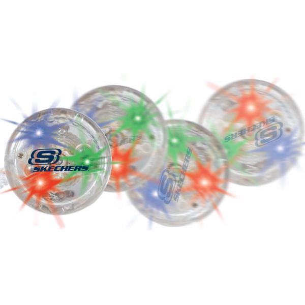 Multicolor Crystal Lighted Yo-yo That Changes Color As It Moves Photo