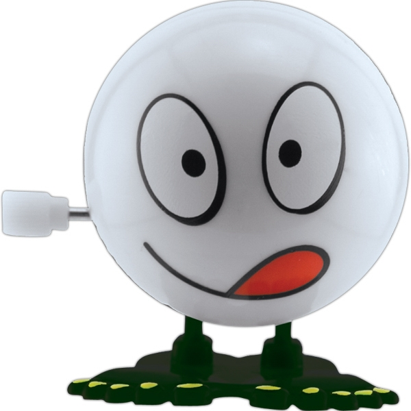 Big Head Silly White - White - Bouncing Big Head Wind-up Toy Photo