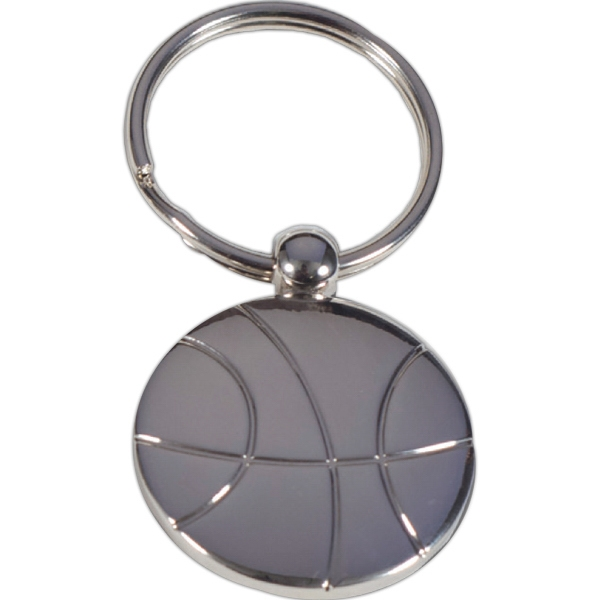 Basketball - Metal Key Holder. Perfect For Sports Fans Photo