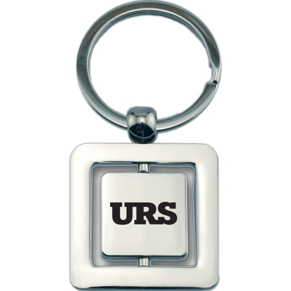 Metal Key Holder With Inner Plate That Spins Photo
