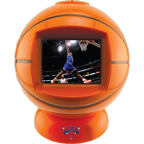 "Basketball Shaped Desktop Video Player With 2.4"" Screen Photo"