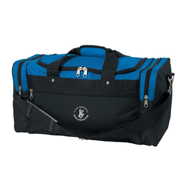 The All Day - Classic Gym Bag Features Durable Metal Fasteners, Zippers And Pulls Photo