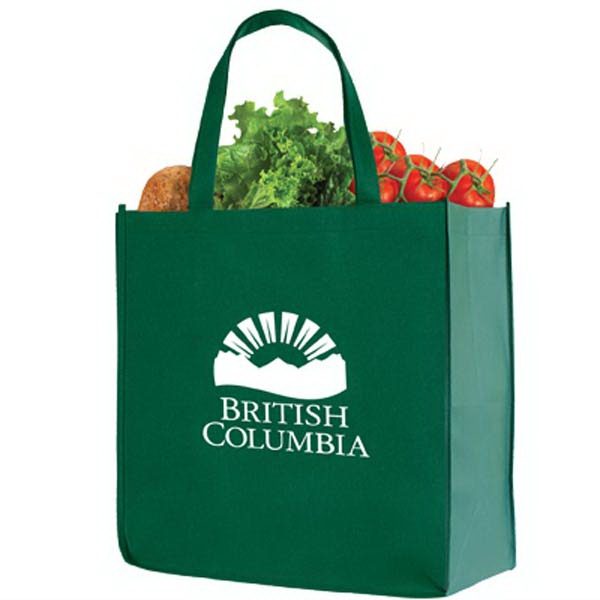 The Basic - Re-useable Non-woven Shopping Tote, Removable Board Photo