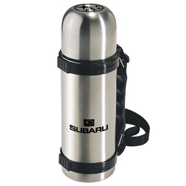 The Robust - Double Walled, Foam Insulated 18-8 Stainless Steel Flask With Handle, 24 Oz Photo