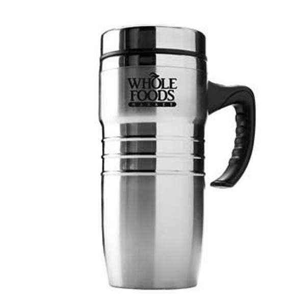 The Ringer - Tall Double-walled Stainless Steel Mug, 16 Oz Photo