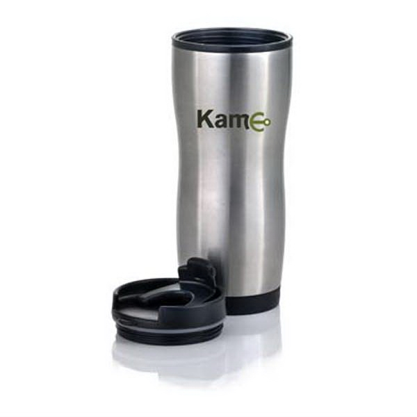 The Stylish - Modern Styling With A Touch Of Elegance, Stainless Steel Travel Tumbler, 16 Oz Photo