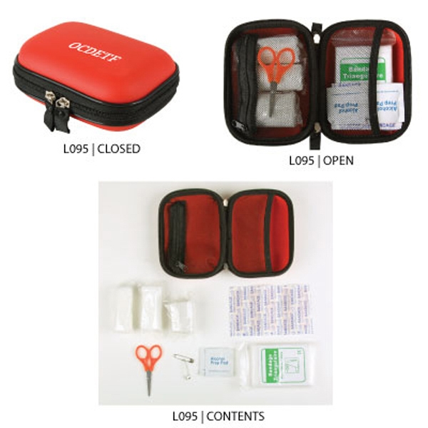 The Essential - First Aid Kit, In Durable Protective Eva Pouch With Zipper Photo