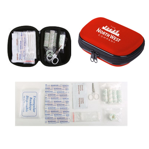 The Prep - First Aid Kit, In Durable Protective Eva Pouch With Zipper Photo