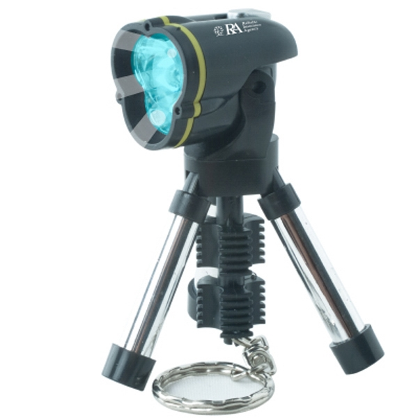 The Studio - Foldable, Portable And Versatile Mini Tripod Flashlight With Keychain Photo